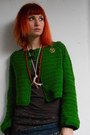 Green-crochet-diy-cardigan