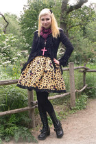 yellow Metamorphose skirt