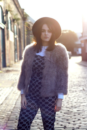 puce feather asos jacket - dark gray All Saints boots