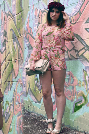 co-ord Aliexpress romper - Roses and Clementines bracelet