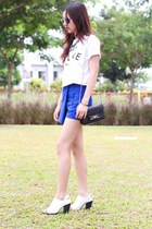 feline Brian Lichtenberg t-shirt - mules Sol Sana shoes