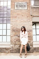 Zara jacket - Prada bag - Senso heels - Style Societe skirt