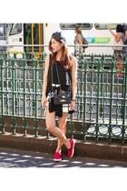 PROENZA SCHOULER bag - bardot top - Steve Madden sneakers