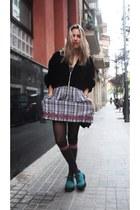H&M shoes - Zara dress - second hand jacket - Primark bag