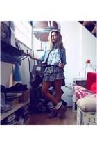 Primark shoes - second hand jacket - Primark tights - second hand top