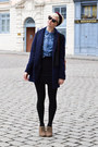 Clarks-boots-urban-outfitters-coat-denim-h-m-shirt-american-apparel-skirt