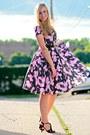 Black-vintage-dress-black-dsw-heels
