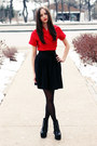 Black-jeffrey-campbell-boots-red-wrap-club-couture-dress
