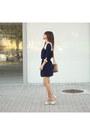Navy-sugarhill-boutique-dress-camel-guess-bag-ivory-dressv-heels