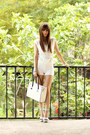 White-milanoo-bag-white-sammydress-shorts-light-blue-quiz-clothing-heels