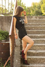 Ruby-red-leopard-print-asos-boots-black-stradivarius-shorts