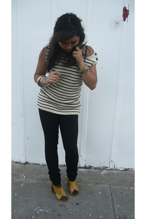 Some French Brand top - Cheap Monday pants - Chloe shoes