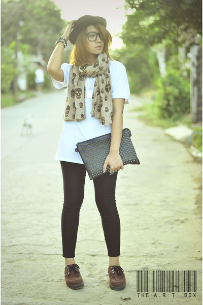 clutch Primadonna bag - creepers SG New Look shoes