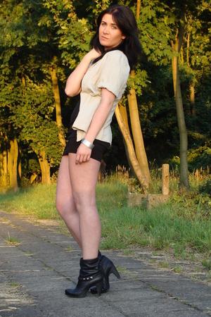 Zara jacket - H&M dress - bronx boots