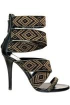 hand beaded Balmain heels