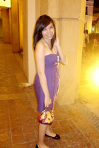 Mango dress - RW Bazaar necklace - Rustans shoes - Guess purse