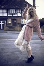 Black-primark-boots-beige-zara-dress-beige-primark-socks-light-pink-topsho