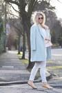 Light-blue-oasap-coat-heather-gray-river-island-jeans
