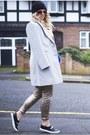Heather-gray-f-f-coat-black-river-island-hat-bronze-sequined-h-m-leggings