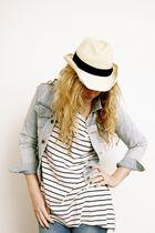 H&M t-shirt - Primark jeans - Primark hat