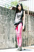 bubble gum Radioactive jeans