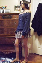 aa top - f21 skirt - f21 shoes