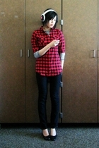 shirt - Secondhand shirt - abercrombie and fitch jeans - thrifted shoes - Mix ac
