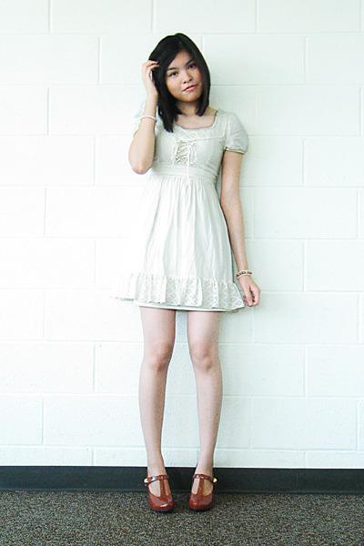 jovovich hawk for target dress - Charlotte Russe shoes - TJ Maxx accessories - b