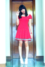 Red-betsey-johnson-dress-red-betsey-johnson-accessories-pink-yrys-shoes-re