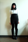 Blue-susto-coat-white-charlotte-russe-top-black-sm-skirt-black-aerosoles-b