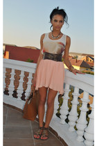 pull&bear skirt - Zara bag - pull&bear top