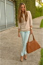 Zara-sweater-tory-burch-bag-bershka-pants-michael-kors-watch
