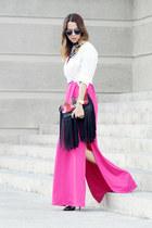 Marias Bag bag - Paola Vasquez dress - dior sunglasses