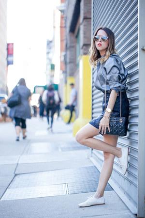 The P skirt - kate spade bag - THE P blouse