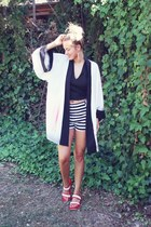 RZC blouse - H&M shorts
