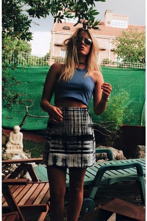 RZC Design skirt - Zara top
