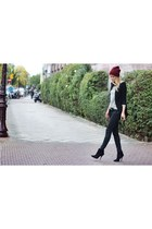Zara blazer - Zara boots - Zara pants - StyleMint top