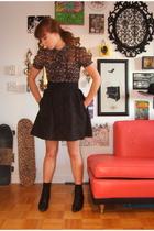 foxhuntvintage - forever 21 blouse - H&M skirt