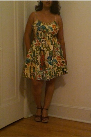 love-life dress - Mia shoes