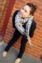 blazer - scarf