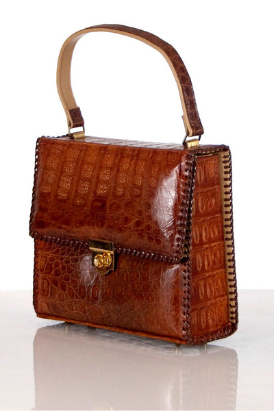 alligator unknown brand bag