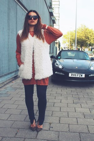 Miss Sixty jeans - Cheap Monday blouse - Primark vest - Zara heels