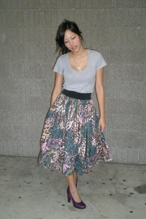 Jcrew shirt - H&M skirt - Frye shoes