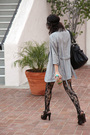 Black-urban-outfitters-tights-brown-derek-lam-shoes-gray-mm6-by-martin-margi