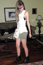 Gray-h-m-top-green-h-m-skirt-beige-cynthia-rowley-purse-black-first-boots-