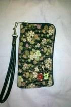 black floral wallet wallet