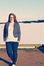 Blue-old-navy-jeans-navy-striped-smart-set-blazer-sequin-joe-fresh-top