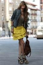Javaricouk boots - Pepe Jeans jacket - Massimo Dutti bag - Zara skirt