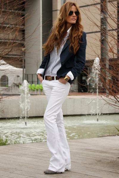 Zara blazer - Pepe Jeans shirt