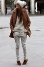 Choies-coat-bershka-pants